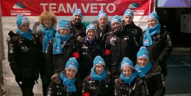 L'équipe vétérinaire 2016 de La Grande Odyssée Savoie Mont-Blanc