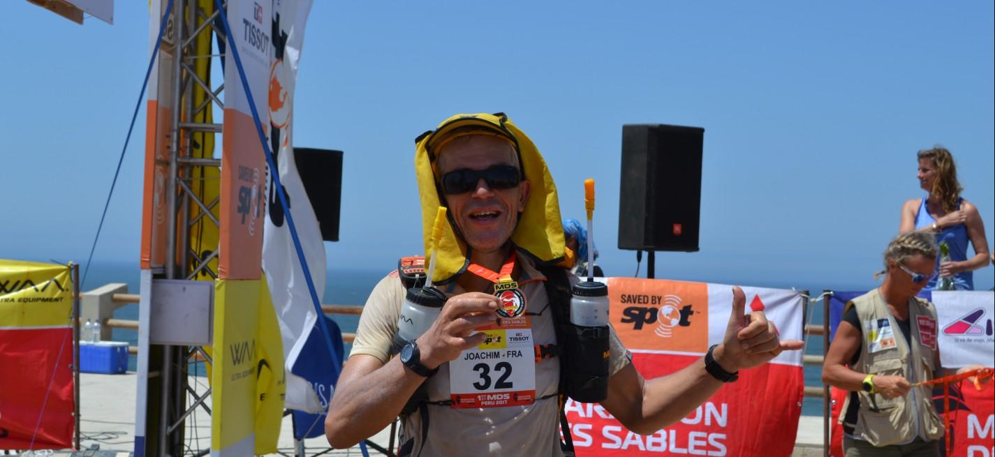 Joachim Lopes de Lima (T89) de retour du Marathondessablesau Pérou