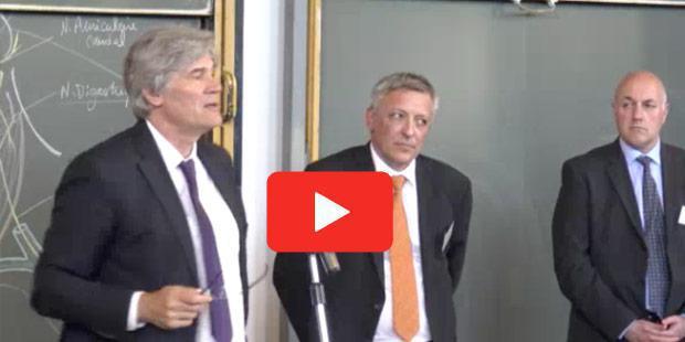 Vidéo : Stéphane Le Foll, vétérinaire honoris causa