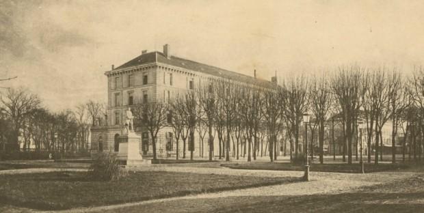 L'école d'Alfort au 19e : les bâtiments