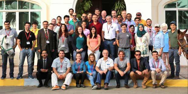 Participants du symposium Abou Dhabi-Alfort