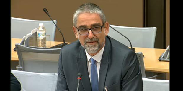 Patrick Dehaumont, directeur général de l'alimentation.