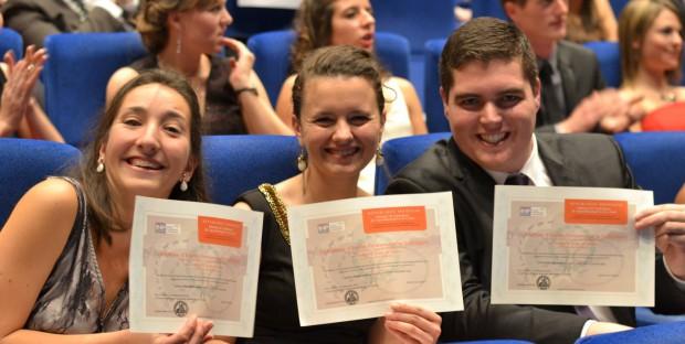 Cérémonie de remise des diplômes à Toulouse