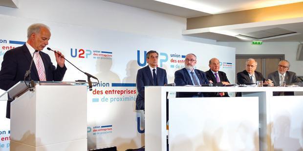 L'union des entreprises de proximité a réuni chefs d'entreprises et candidats à la présidentielle le 16 mars à Paris