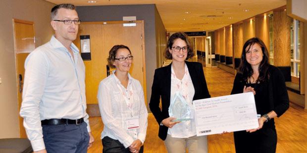 remise du prix de l'European Society of Comparative Gastroenterology 2016 sponsorisé par Nestlé Purina