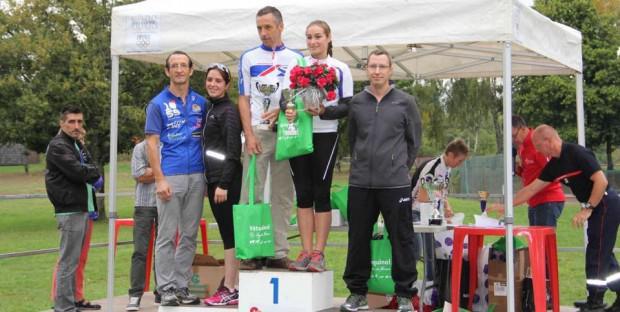 Deuxième coupe de France de triathlon des vétérinaires