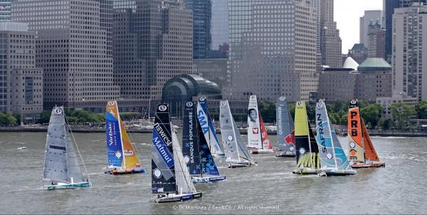Départ de la course New-York Vendée