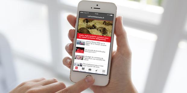 Application mobile sur iPhone