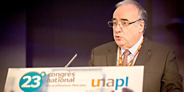 Le président de l'Unapl, Michel Chassang