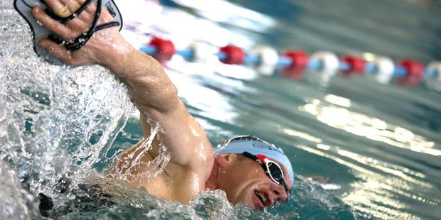 Epreuve de natation en triathlon