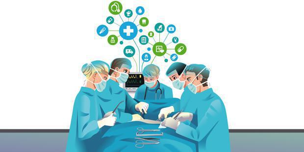 Dessin chirurgiens
