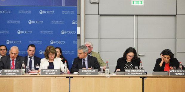 Forum à l'OCDE avec M. El Khomri