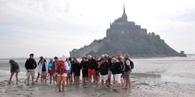 Promotion Alfort 75 au Mont Saint-Michel