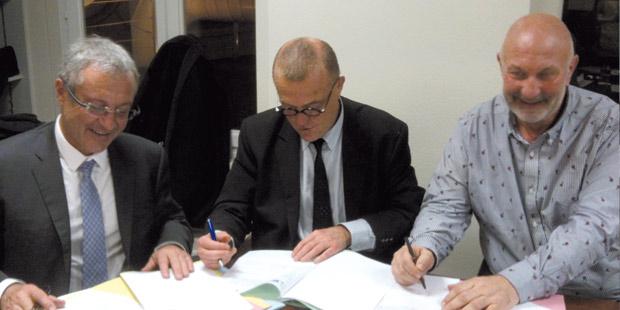 Christophe Brard, Jean-Yves Gauchot et Eric Guaguère