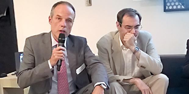 Jean-Luc Angot (CGAAER) et Yves Trégaro (FranceAgriMer).