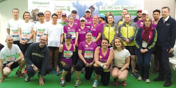 Vétoquinol au marathon de Paris