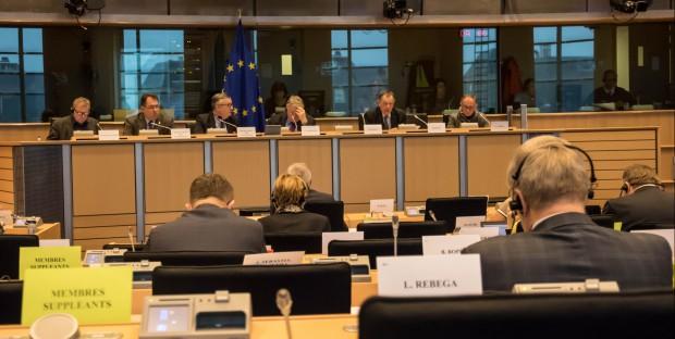 Bernard Vallat au Parlement européen