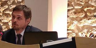 olivier Debaere, DGAL, présente le plan EcoAntibio2 à l'AG de la SNGTV