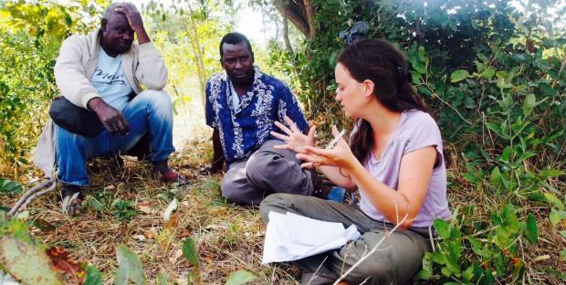 Etudiants vétérinaires en projet communautaire en Zambie: Melindika
