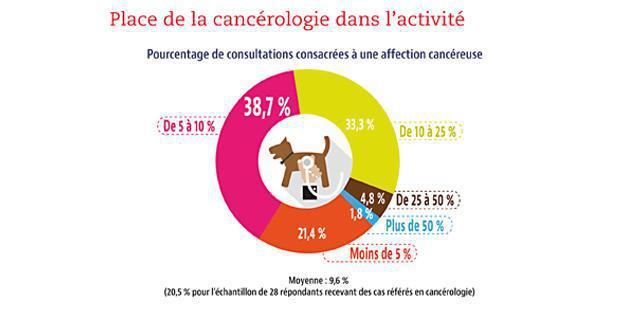 Infographie sur la place de la cancérologie