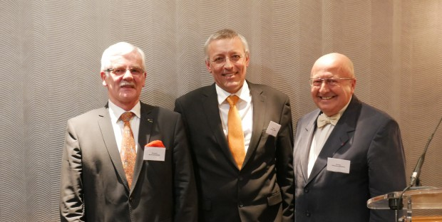 Michel Baussier, Jacques Guérin, Christian Rondeau