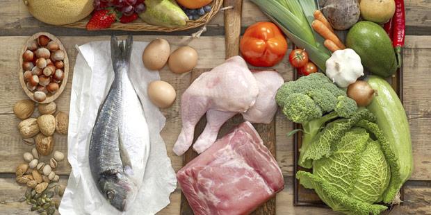 photos d'aliments, poissons, viandes, fruits et légumes