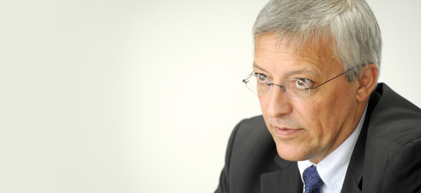 Jacques Guérin, président du Conseil national de l'Ordre des vétérinaires