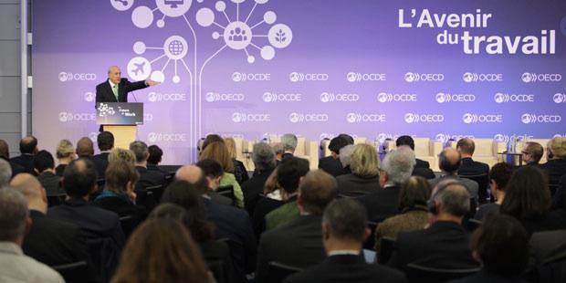 l'OCDE et son forum sur l'avenir du travail