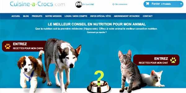 home du site cuisine-a-crocs.com