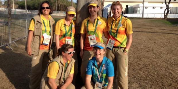 L'équipe vétérinaire française des JO de Rio