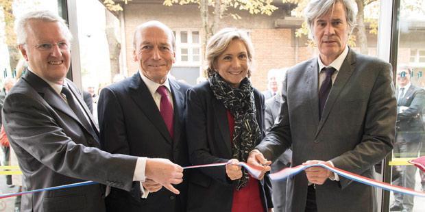 Inauguration du bâtiment Camille-Guérin
