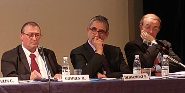 Michel Combes, Patrick Dehaumont, Marc-Henri Cassagne
