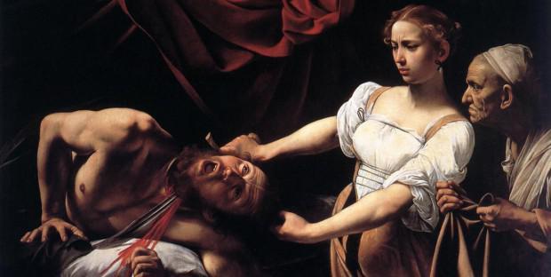 Le Caravage Judith tranchant la tête d'Holopherne