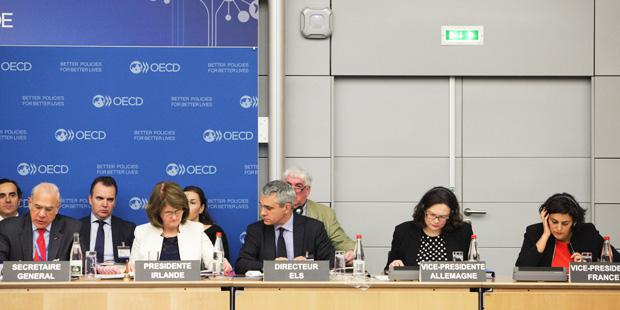 Représentants OECD lors du congres