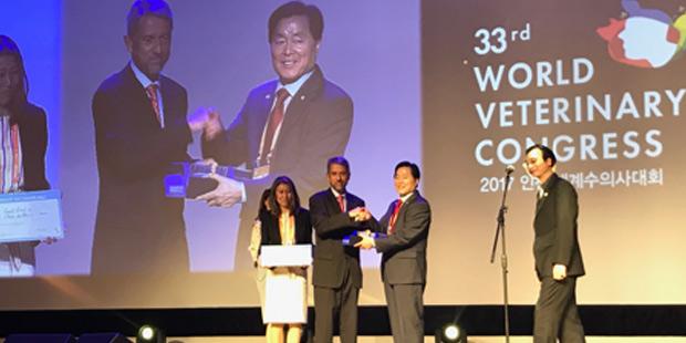 Prix de la journée mondiale vétérinaire