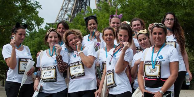 Une équipe de VétoAdom à la course La Parisienne