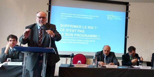 Gérard Quevillon président national du RSI