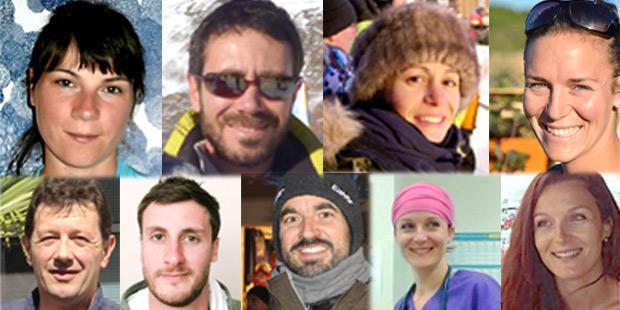 Equipe vétérinaire de La Grande Odyssée Savoie Mont-Blanc
