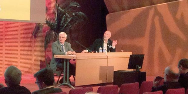 Michel Baussier et Éric Gaguère