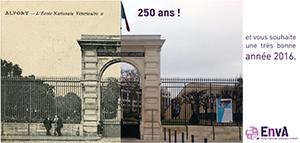 Visuel du blog Les 250 ans de l'école d'Alfort