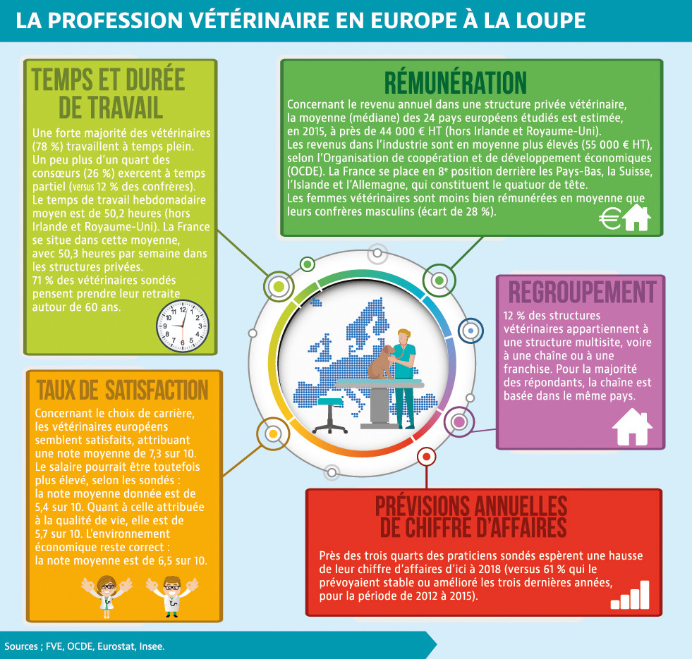 La profession vétérinaire en Europe à la loupe