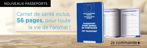 Nouveaux passeports animaux