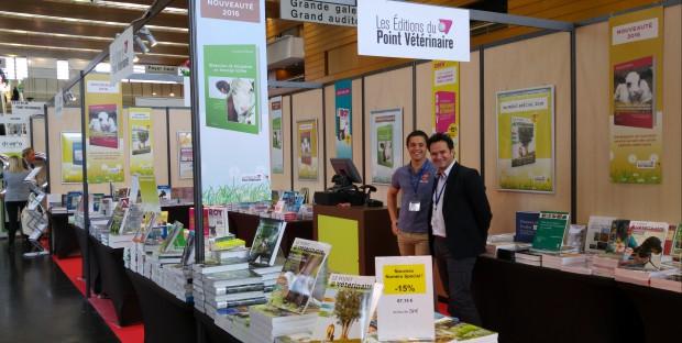 Les Editions du Point Vétérinaire au congrès SNGTV