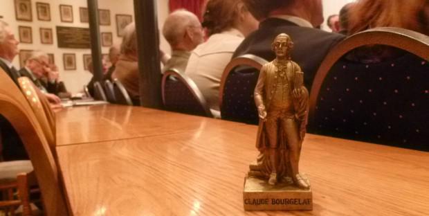 Prix de thèse : statuette de Bourgelat