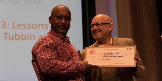 B.A. Lubisi lauréat du prix du poster OIE