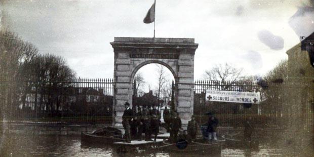 Crue de 1910 de l'école vétérinaire d'Alfort