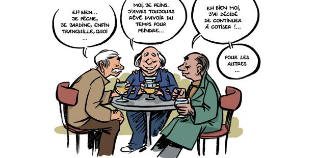 Dessin d'Emmanuel Thébaud