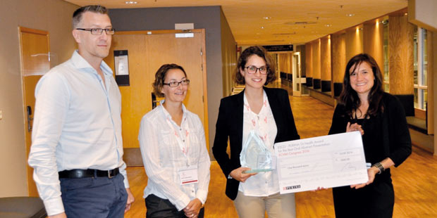 remise du prix de l'European Society of Comparative Gastroenterology 2016 sponsorisé par Nestlé Purina