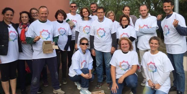 Equipe solidarité de MSD santé animale