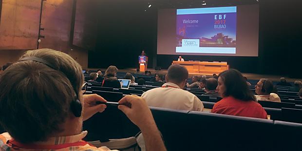Salle du congrès de buiatrie Bilbao